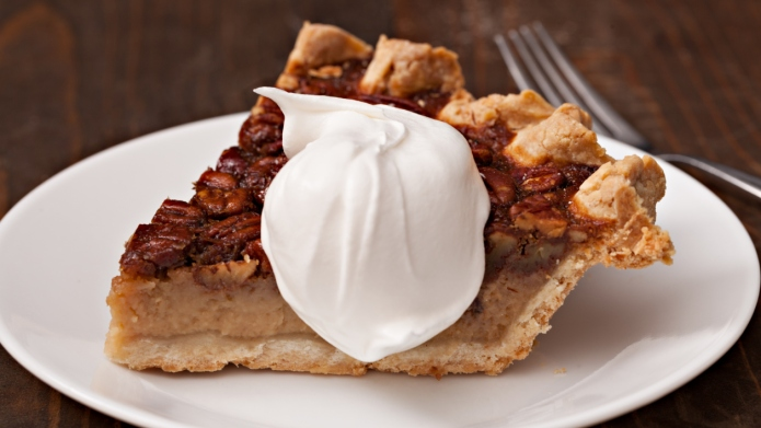 Slice Of Gluten Free Pecan Pie
