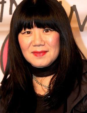 Anna Sui putting her funky style