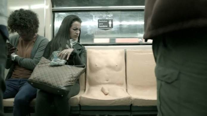 Can Mexico City Subway's 'Penis Seat'