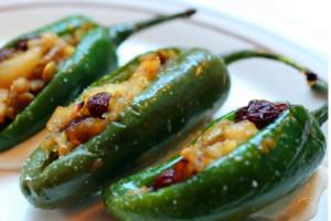 New Year's Eve Appetizer: Stuffed Jalapenos