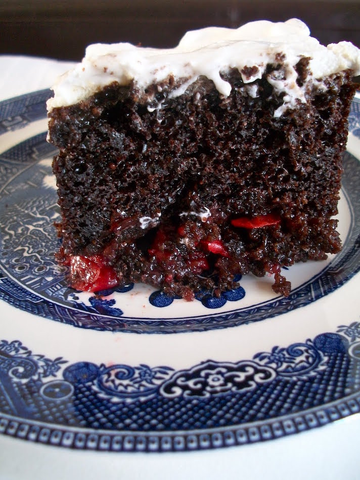 11 Romantic Chocolate Desserts You Can Make with Boxed Cake Mix: Black Forest Cake