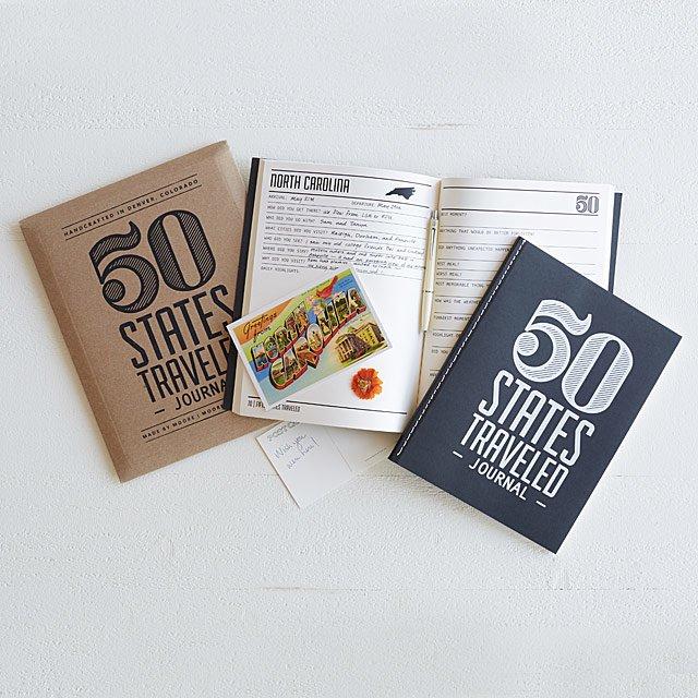50 states travel journal.