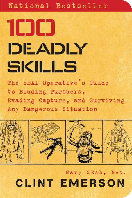 '100 Deadly Skills' book.