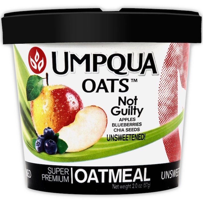 10 Instant Oatmeals That Aren't Packed With Sugar (& Your Kids Will Actually Eat): Umpqua Oats Apples, Blueberries, and Chia Seeds
