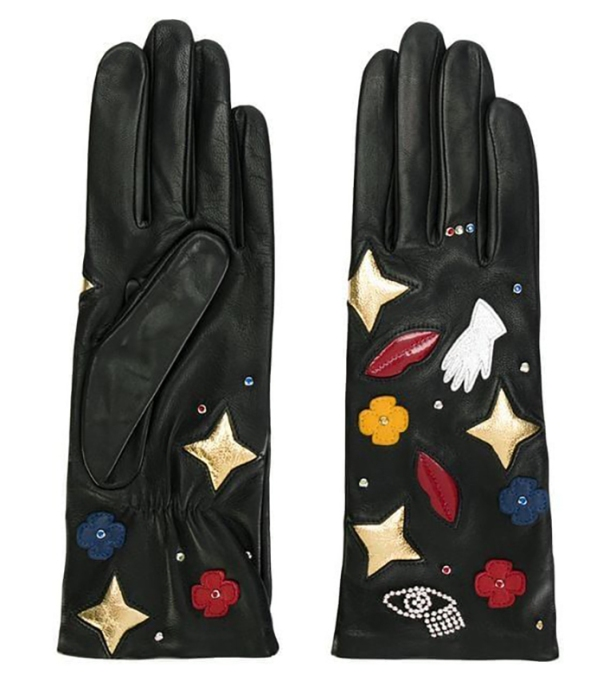 Agnelle Funny Patches Gloves