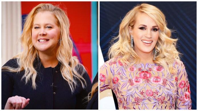 Amy Schumer Carrie Underwood pregnancy
