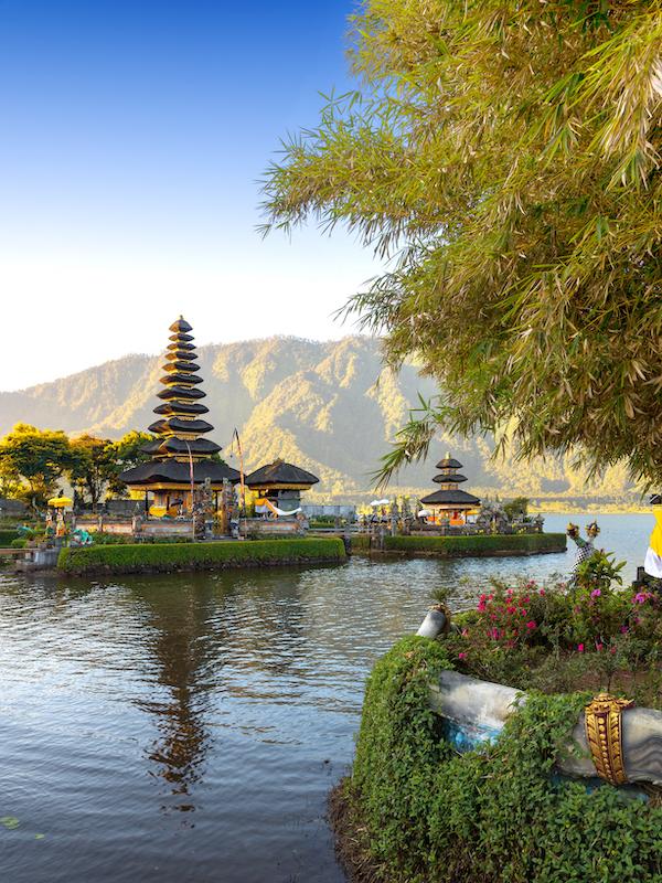Pura Ulun Danu Bratan, Bali, Indonesia.