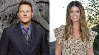 Chris Pratt and Katherine Schwarzenegger Jurassic/Fossil