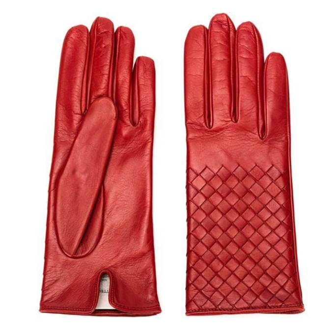 Bottega Veneta Nappa Leather Gloves