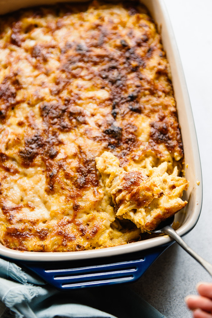 15 Easy Meatless Dinners With Plenty of Protein: Baked Butternut Squash Mac and Cheese