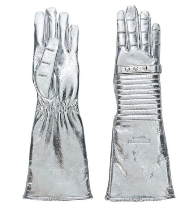 Calvin Klein Metallic Gloves