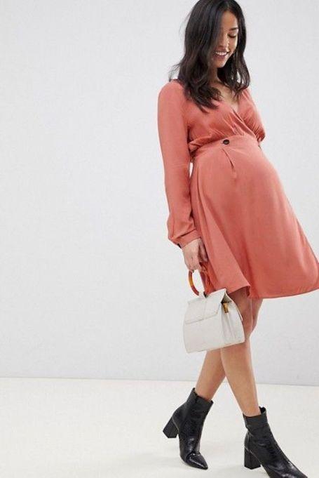 Casual Wrap Minidress