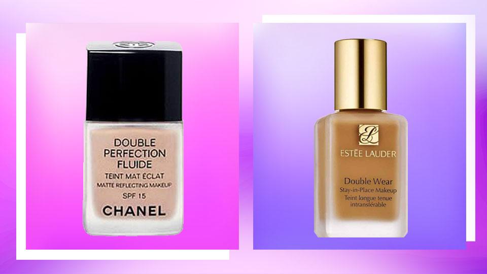 Chanel Double Perfection Fluide Matte Reflecting Makeup vs. Estee Lauder Double Wear Foundation