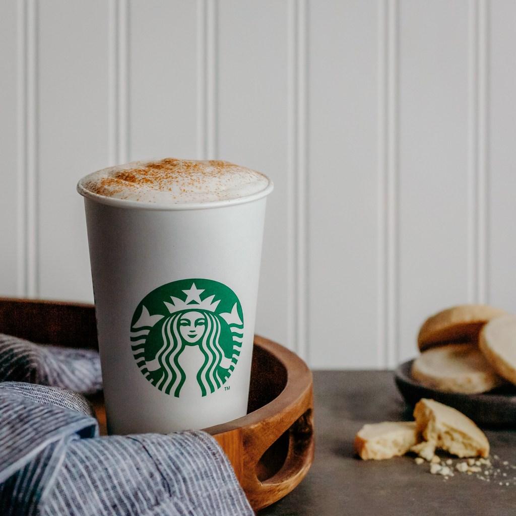 Starbucks Cinnamon Shortbread Latte Lifestyle