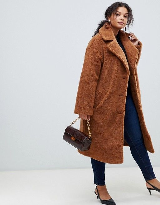 Curve Teddy Coat