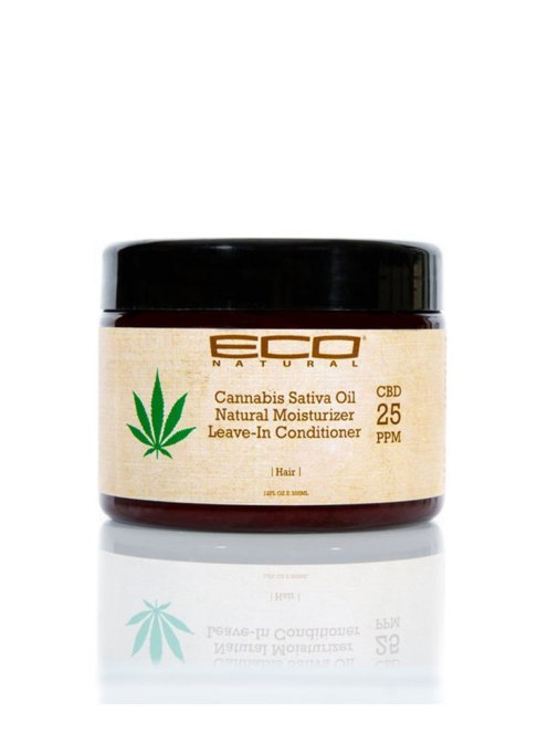 Eco Natural Cannabis Sativa Oil Leave-In Conditioner