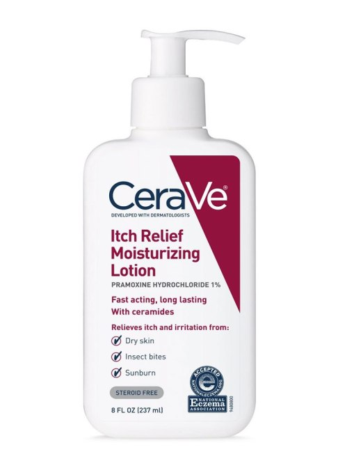 CeraVe Itch Relief Moisturizing Lotion