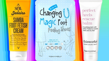 Foot Masks and Creams Your Dry,
