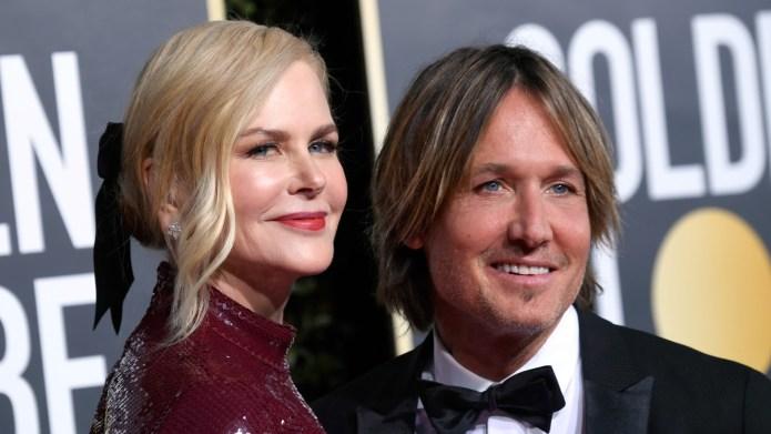 Nicole Kidman Keith Urban Golden Globes