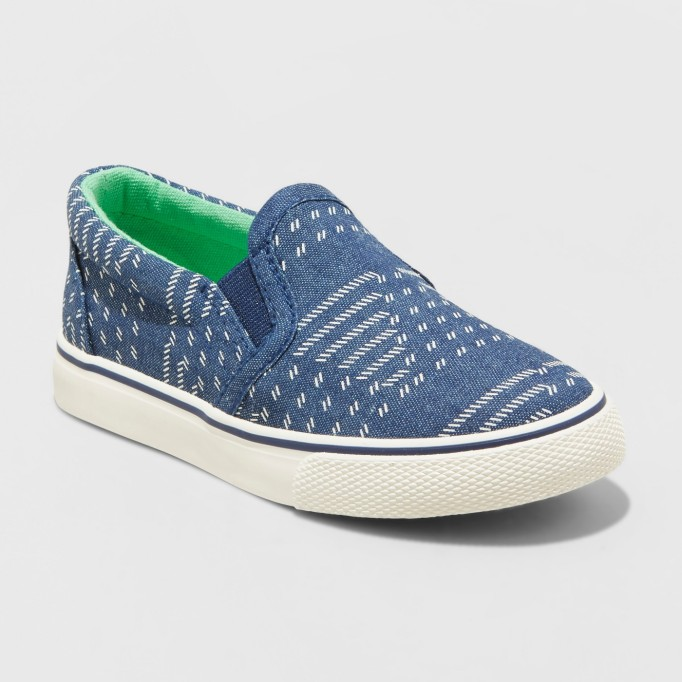 7e3d34bb137 Tiny Toms Classics in Drizzle Grey With Polka Dots. Cat   Jack Lander Twin  Gore Sneakers