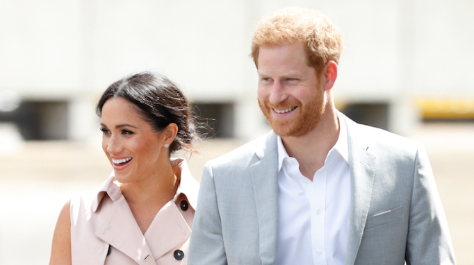 photo of Prince Harry & Meghan Markle