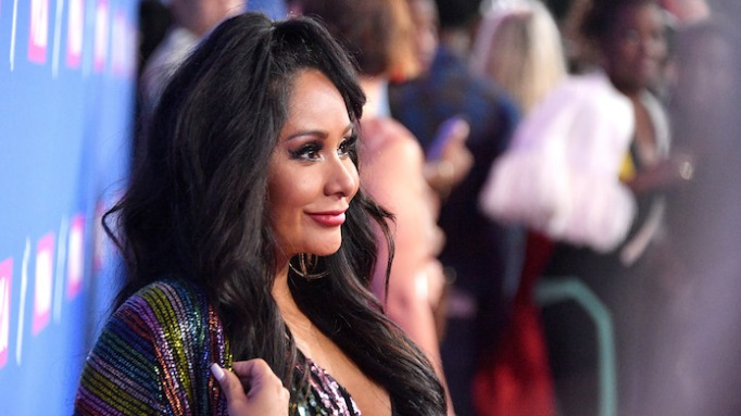 photo of Nicole Polizzi at the 2018 MTV Video Music Awards