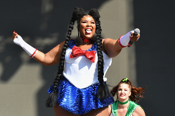 Lizzo performs during Voodoo Music + Arts Experience on October 27, 2018, in New Orleans, Louisiana.