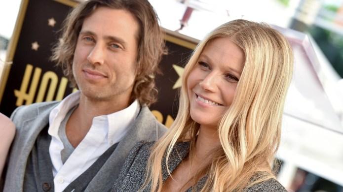 Brad Falchuk and Gwyneth Paltrow attend