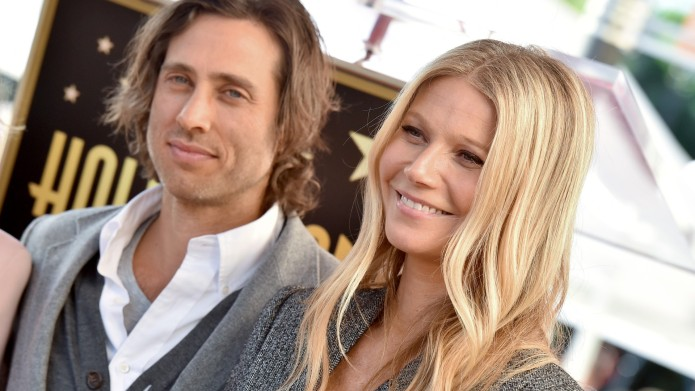 Brad Falchuk and Gwyneth Paltrow attend
