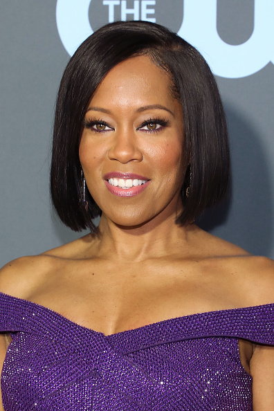 Regina King attends The 24th Annual Critics' Choice Awards at Barker Hangar on January 13, 2019 in Santa Monica, California.