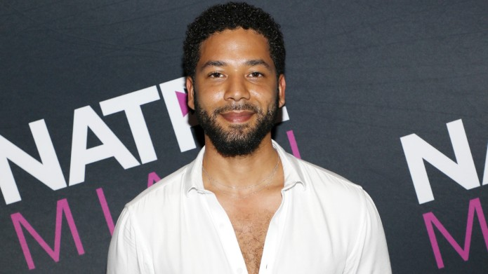 Jussie Smollett is seen at NATPE