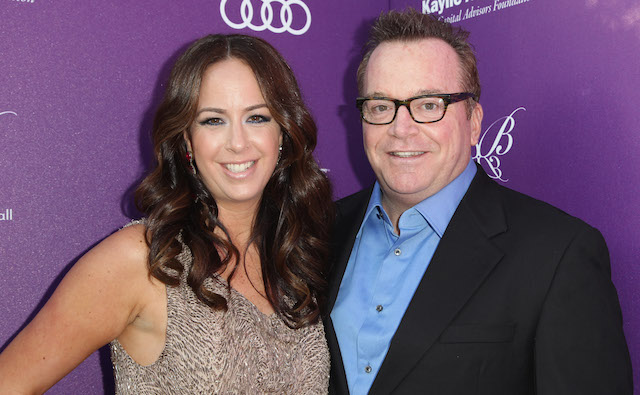 photo of Tom Arnold & Ashley Groussman