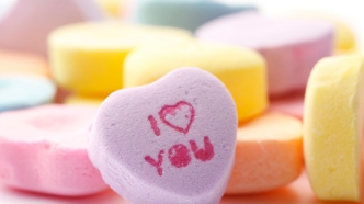 Sweethearts conversation hearts Valentine's Day candy