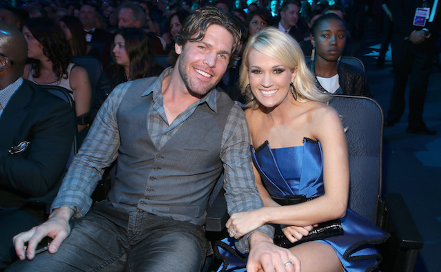 photo of Carrie Underwood & Mike Fisher