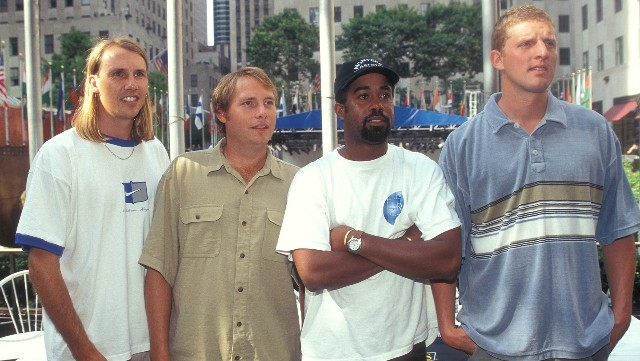 Hootie & the Blowfish attends the Summer Goodwill Games IV Kick-Off Celebration