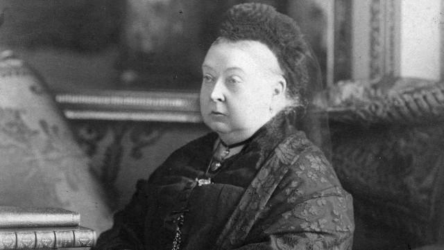 Photo of Queen Victoria, circa 1899