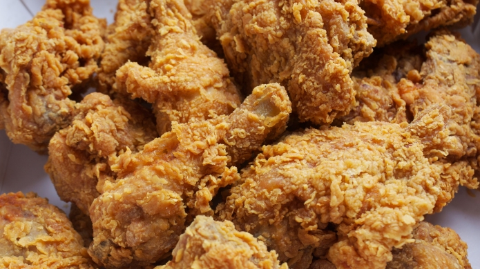 photo of fried chicken