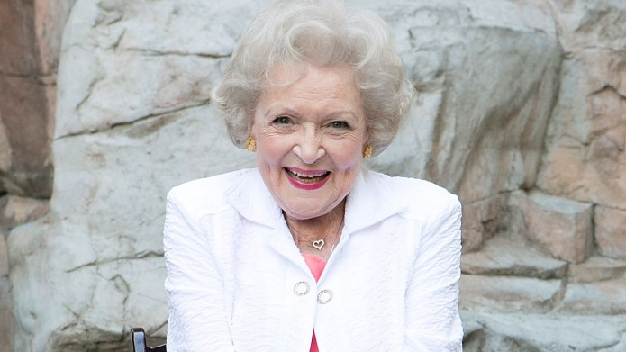 Betty White attends the Greater Los