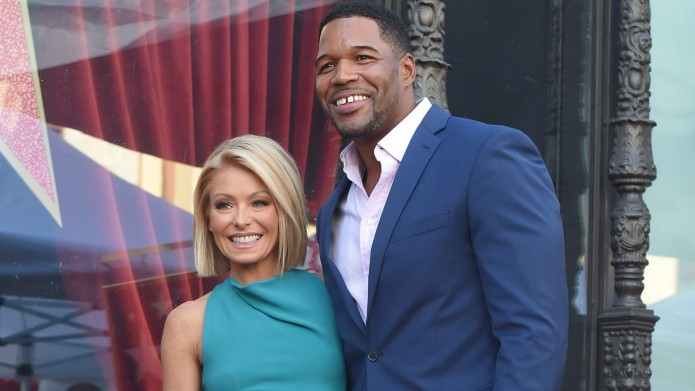 Kelly Ripa and Michael Strahan attend