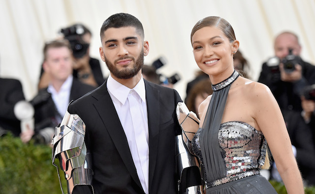 photo of Zayn Malik & Gigi Hadid