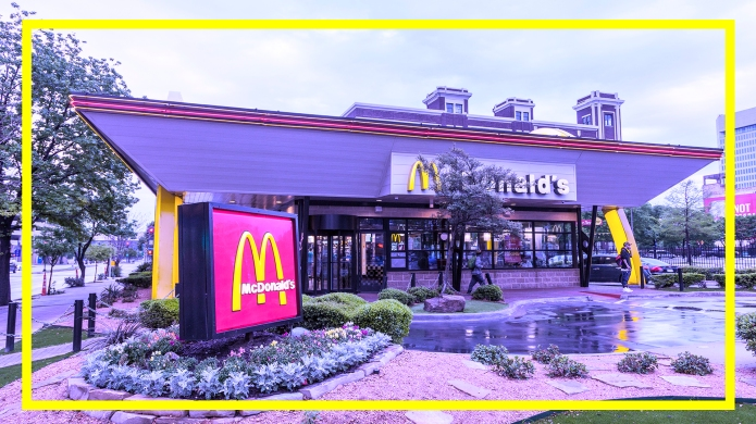 McDonald's Restaurant in Dallas, Texas