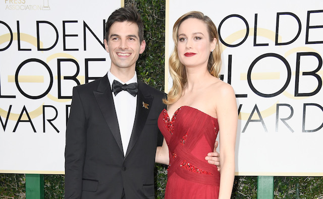 photo of Brie Larson & Alex Greenwald