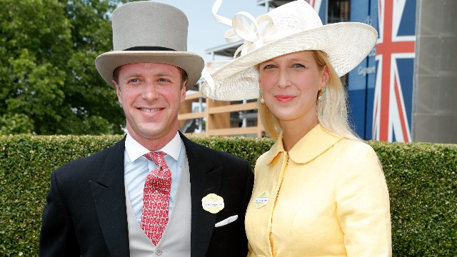Tom Kingston and Lady Gabriella Windsor attend Day 1 of Royal Ascot