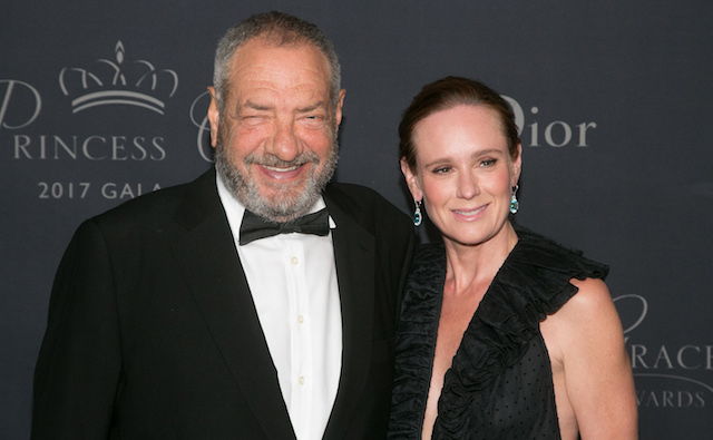 photo of Dick Wolf & Noelle Lippman