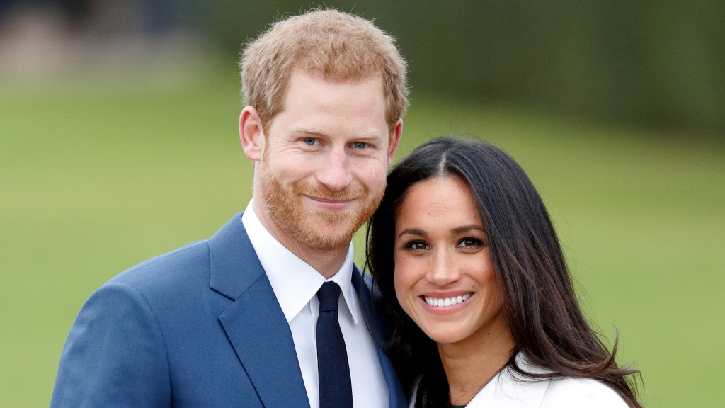 photo of prince harry meghan markle engagement announcement