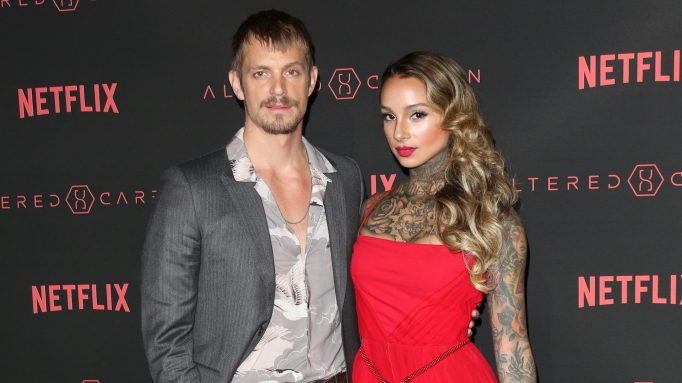 photo of Joel Kinnaman and Cleo Wattenstrom