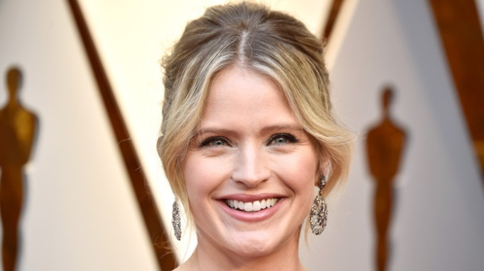 Sara Haines at the 90th Annual Academy Awards
