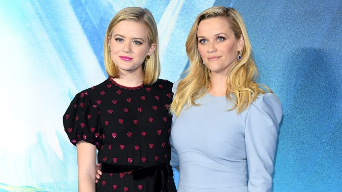 Reese Witherspoon and Ava Phillippe attend