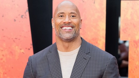 Dwayne Johnson attends the European Premiere