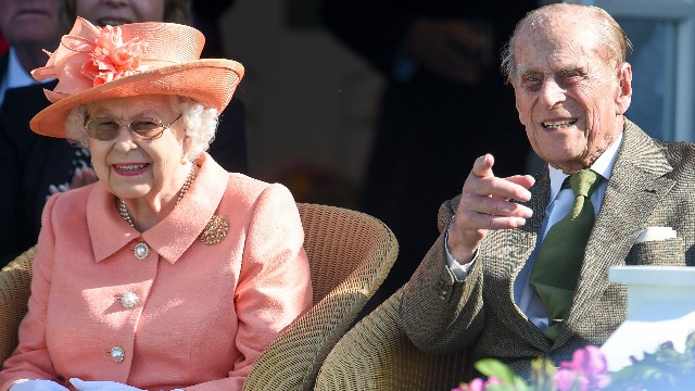 Queen Elizabeth II and Prince Philip, Duke of Edinburgh attend The OUT-SOURCING Inc Royal Windsor Cup 2018